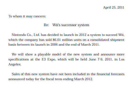 File:Nintendo press release confirming Wii HD existance.png