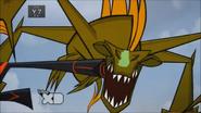 Ninja kick the lake monster