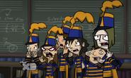Band geeks in got stank