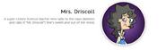 Mrs. Driscoll