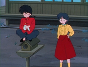 Ranma and Akane talk
