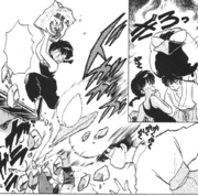 Big Phoenix attack - manga
