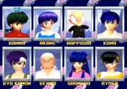 Battle Battle Renaissance character select