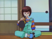 Nabiki questions P-chan