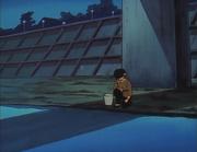 Ryoga under bridge