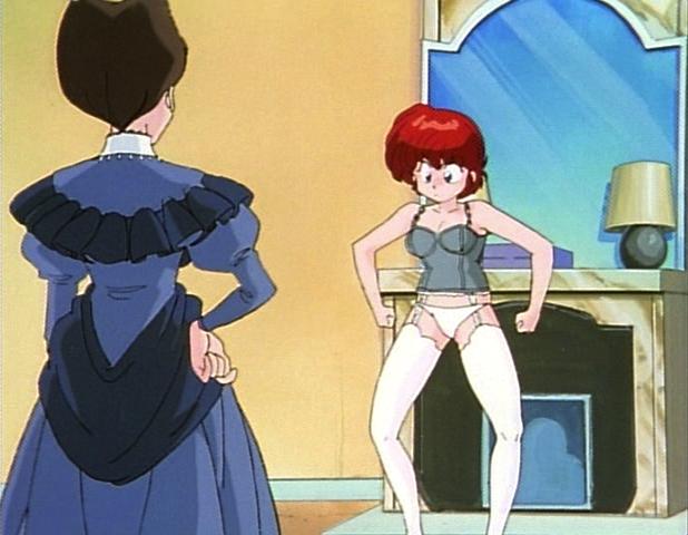 Anime guy turns into girl