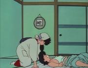 Ranma awakens to Kodachi