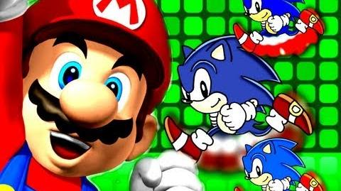 Crazy Rap Battles 1 Super Mario VS Sonic The Hedgehog-3
