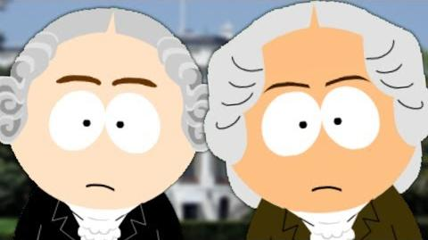 George Washington vs John Adams. Presidents Special. Epic Fanmade Rap Battles of History 44