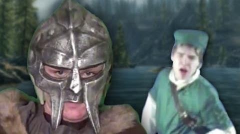 Dovahkiin vs Link - Epic Rap Battle Parodies Season 2-0