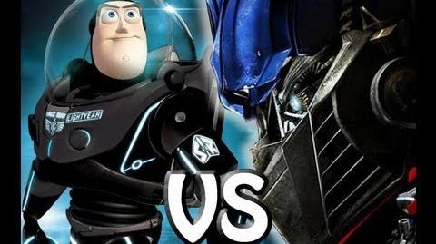 Buzz Lightyear VS Optimus Prime - Epic Rap Battles Of Cartoon History