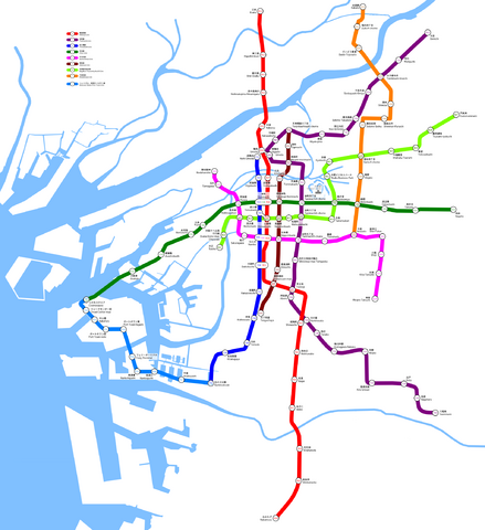 File:Osaka Municipal Subway Map.png