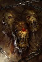 Blight Ogre Evo 3 art card