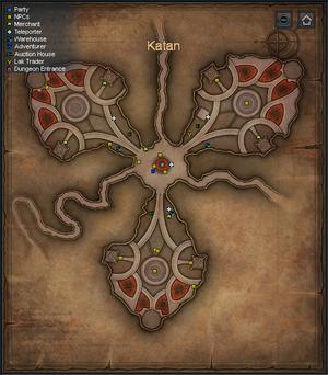 Sepia Map - Katan