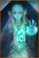 Ice Maiden Evo 1 Staged art card