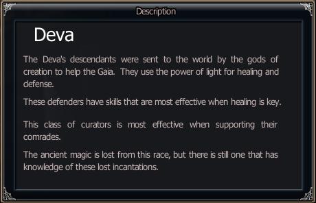 Race Info - Deva
