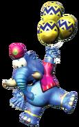 Taj - Balloon Artwork - Diddy Kong Racing