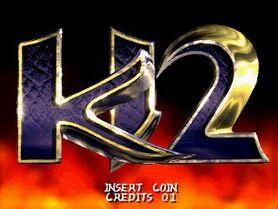 Ki2 arcade screenshot title