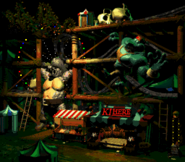 Krazy Kremland - Second Overview - Donkey Kong Country 2