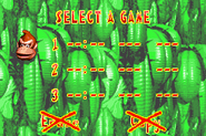File Selection - North America - Donkey Kong Country (Advance)