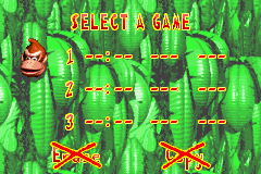 File:File Selection - North America - Donkey Kong Country (Advance).png