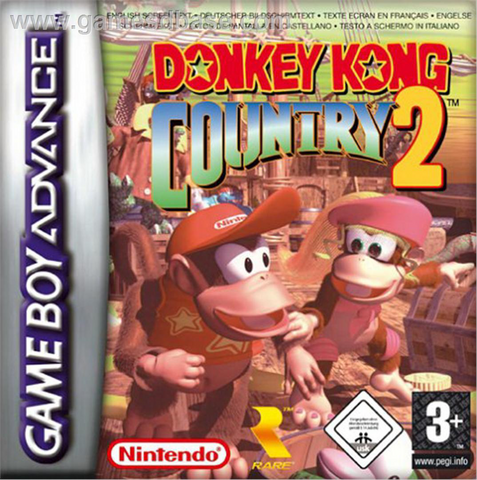 File:Donkey Kong Country 2 - European Boxart.png
