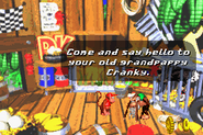 Cranky's Hut Advance - Donkey Kong Country 2