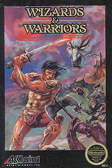File:Wizards and Warriors NES cover.jpg