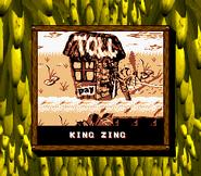 King Zing Ending - Donkey Kong Land 2