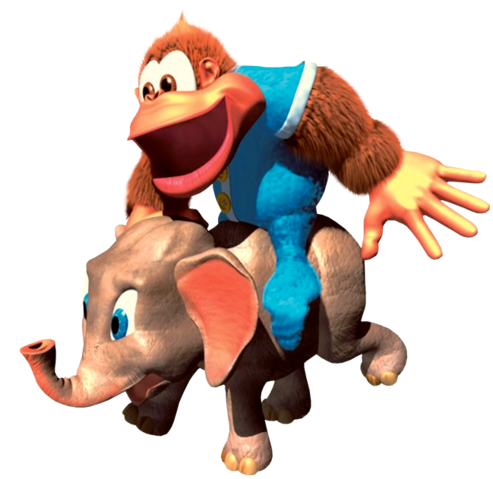 File:Kiddy and Ellie (Donkey Kong Country 3).png