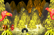 Master Necky Snr. - About to Spew Nuts - Donkey Kong Country (Game Boy Advance)