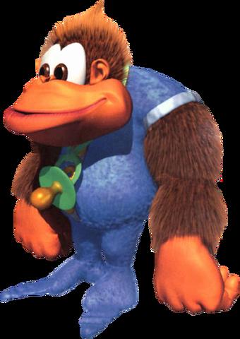 File:Kiddy Kong Artwork 2 (Donkey Kong Country 3).png