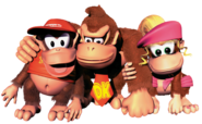 Group Art - Donkey Kong Country 2