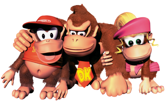 File:Group Art - Donkey Kong Country 2.png