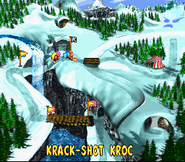 Krack-Shot Kroc - Overworld - Donkey Kong Country 3