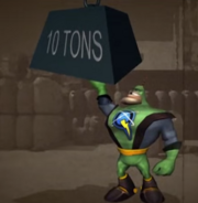 Qwark lifts ten tons