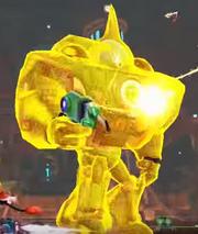 Qwark mech shield
