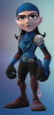 QForce skin - Talwyn (blue)