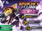Ratchet & Clank Before the Nexus main menu