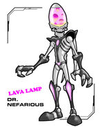 Lava lamp nefarious