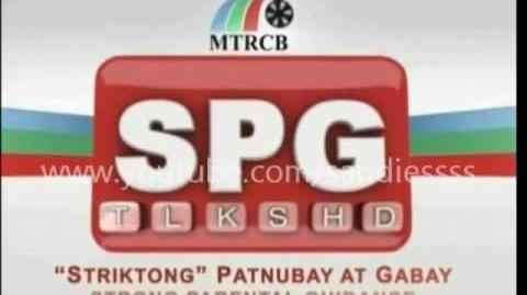 ABS-CBN - MTRCB SPG ver.2 TV RATING SYSTEM