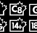Canadian TV Rating System