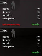 Radiation poisoning