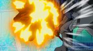 Plue shields Haru