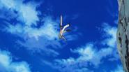 Haru falling