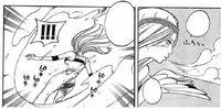 Jiero's freezing powers