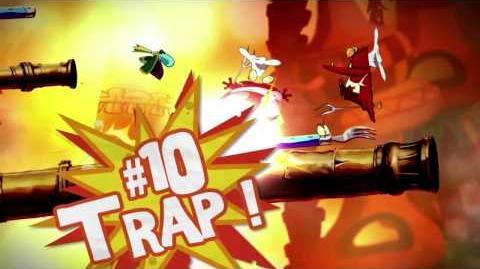 Rayman Origins 10 Ways to Bubblize Your Enemies