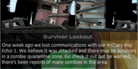 Level 2 Human Campaign: Survivor Lookout