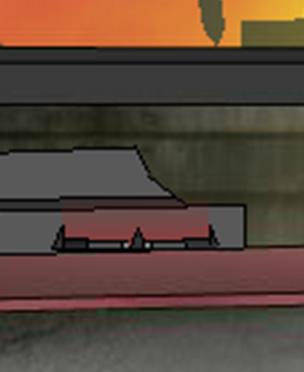 Weapon pickup slot