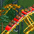 Corkscrew Roller Coaster RCT2 Icon
